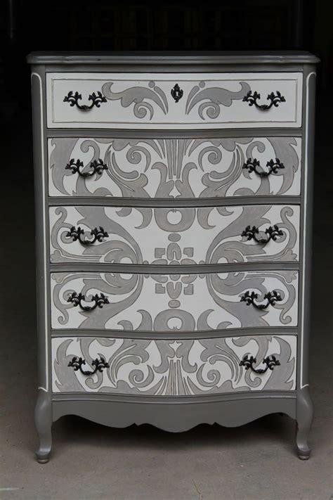 Dresser Clark by Dresser Redo Grey Tones Using Clark And Kensington Paint