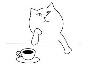 Free illustration think about cafe coffee cat free image on