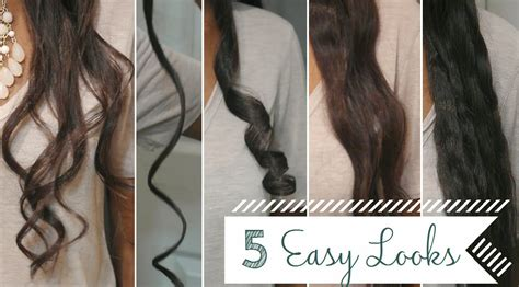 curling with a flat iron the small things blog 5 easy curls waves using a flat iron a review youtube
