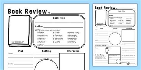 book review layout ks2 1000 ideas about book review template ks2 on pinterest