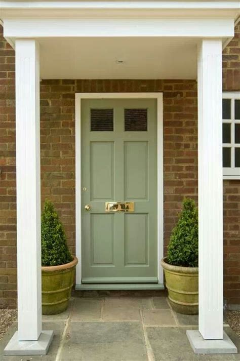 best 20 green front doors ideas on