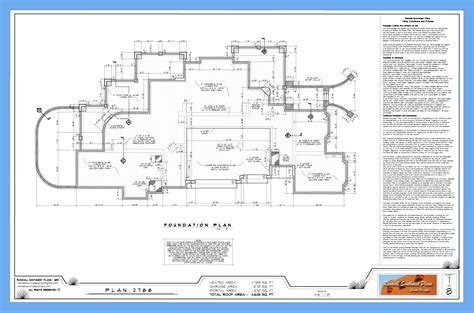 layout plan for foundation what s in a good set of house plans randall southwest plans