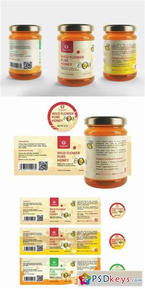 design label packaging honey packaging design honey label 700442 187 free download