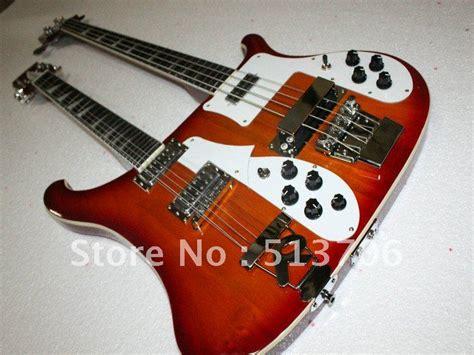 Jpin Neck Gitar Bass free shipping 4003 4 12 strings neck cherry burst electric bass guitar fingerboard
