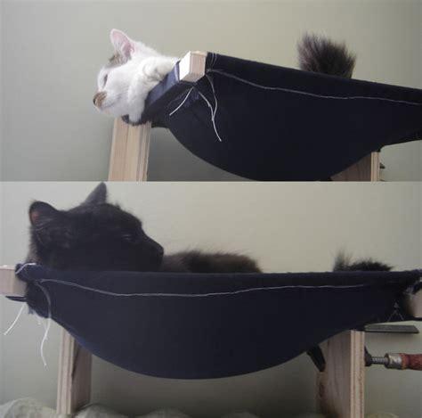 How To Build A Cat Hammock cat hammock