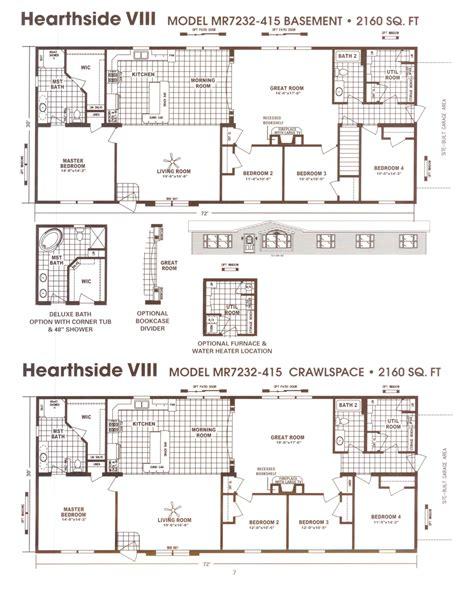 manufactured home floor plan 2008 schult hearthside schult hearthside viii modular floor plan excelsior