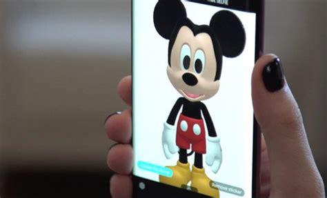 3d Hiding Mickey Dan Minni Mouse samsung y disney crean magia con emoji ar para galaxy s9 y s9 de10