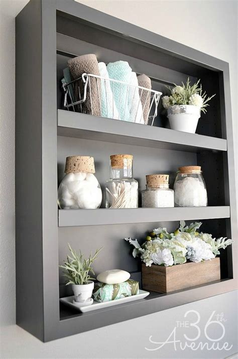 bathroom shelves decorating ideas 20 cool bathroom decor ideas diy crafts ideas magazine