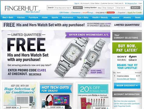 how to receive a fingerhut catalog by mail ehow www fingerhut com fingerhut makes it possible to find