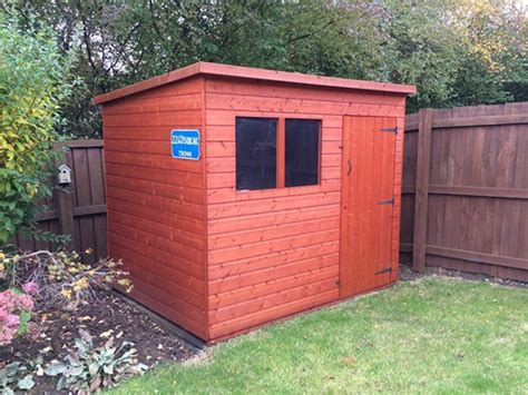Tiger Shed by Shiplap Pent Sheds Wooden Shiplap Sheds By Tiger Sheds