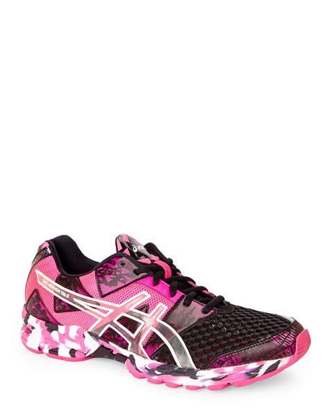 noosa sneakers asics pink black noosa tri 8 sneakers in pink lyst