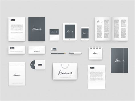 identity design template corporate identity template icon deposit