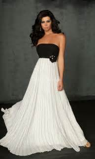 black and white prom dresses can you pull them off promsie