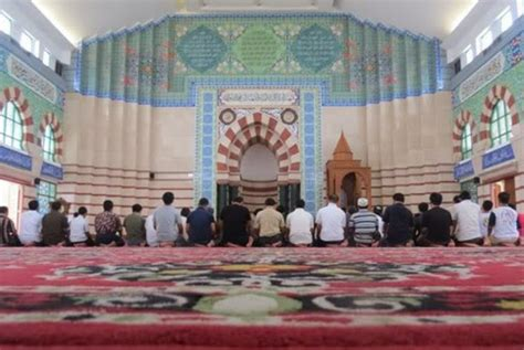 Karpet Masjid Tanah Abang masjid blok a tanah abang terindah di pusat perbelanjaan
