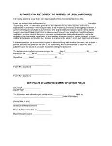medical treatment consent free printable documents