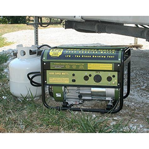 sportsman gen4000lp 3250 running watts 4000 starting watts propane powered portable generator