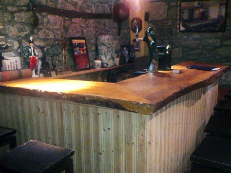 rustic wood bar tops photo by photo courtesy abi skipp