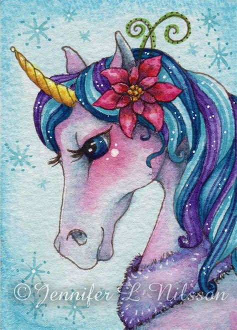 painting unicorn the world s catalog of ideas