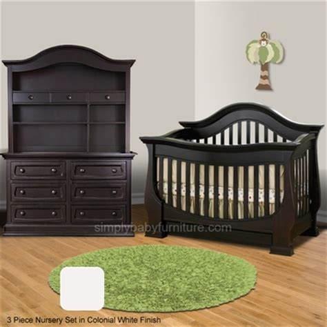 Convertible Crib And Dresser Set by Baby Appleseed Baby Furniture Free Shipping