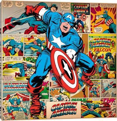 shop prints  licensed marvel comicsicanvas