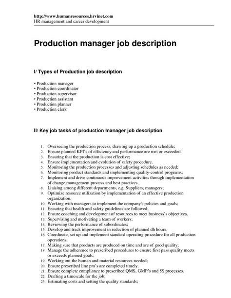 Supervisor Description For Resume by Supervisor Description For Resume Resume Badak
