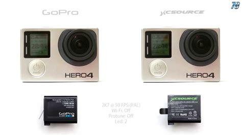 gopro 4 original vs clone battery 2k7 50fps