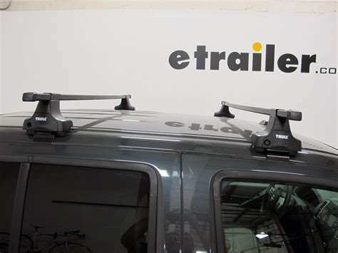 thule roof rack for 2016 gmc 2500 etrailer