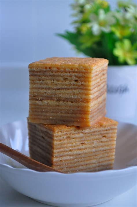 kueh lapis new year sweet cake kueh lapis 千层糕 eat what tonight