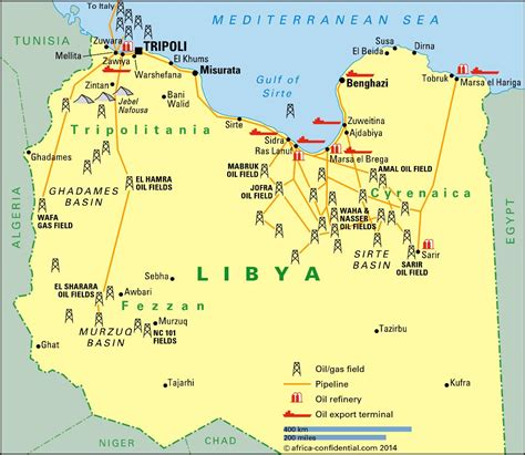 libya map with cities a tale of two cities article africa confidential
