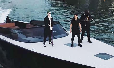 purple lamborghini video boat jared leto s joker in suicide squad music video purple