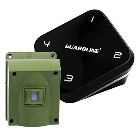 backyard motion sensor alarm 1 4 mile long range wireless driveway alarm professional