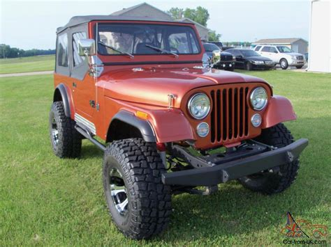 automatic jeep 1981 jeep cj7 304 automatic fiberglass body ground up build