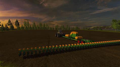 48 row planter amazone 48 row seeder v1 for ls17 farming simulator 2017