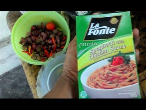 cara membuat mie la fonte video cara membuat spaghetti la fonte