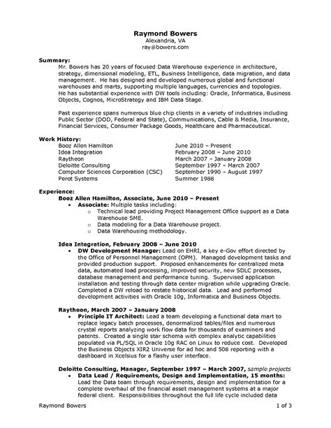 warehouse resume samples visualcv resume samples database