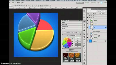 photoshop cs5 x ray tutorial tutorial 3d pie charts generator photoshop cs5 panel