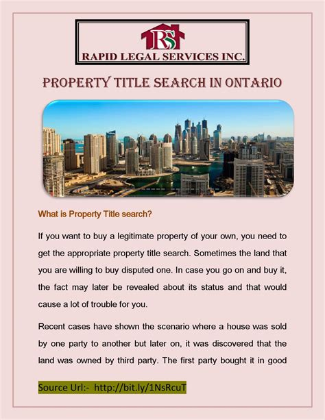 property title search in ontario by raychel rian issuu