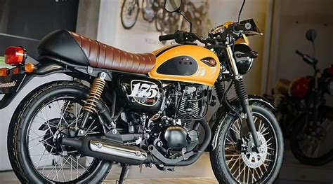 rilis gaya terbaru motor klasik andalannya kawasaki