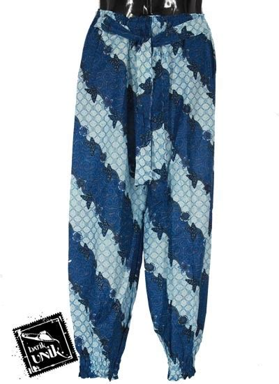 Celana Panjang Aladin Batik Cbm001 Murah baju batik celana aladin katun motif kawung regolan