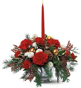 floral christmas centerpiece arrangements all flowers