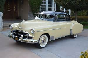 1950 chevy styleliner deluxe coupe two owners fully