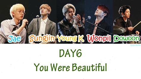 Day 6 A Scenic Detour by Day6 You Were Beautiful 예뻤어 Lyrics Han Rom Eng