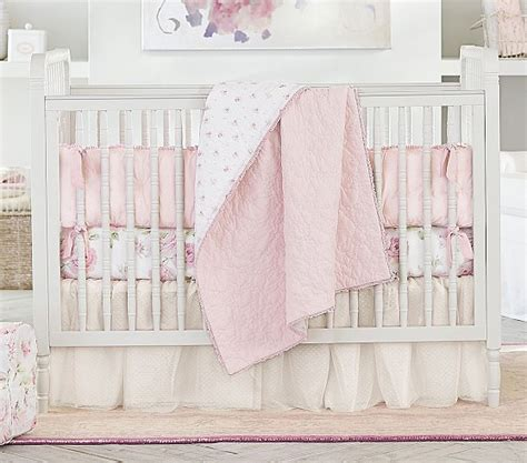 shabby chic baby bedding sets ashwell shabby chic baby blush embroidered baby