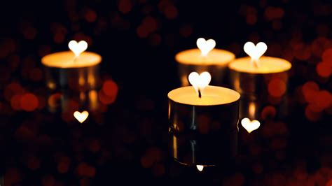 candle dark romantic love valentines day preview wallpapercom