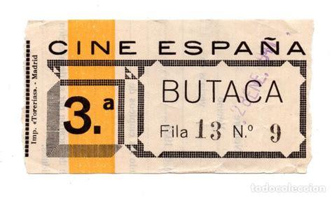 entradas al cine precios entrada de cine cine espa 241 a 1941 comprar entradas de