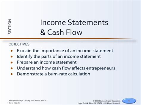 Sections Of An Income Statement by Income Statements Flow