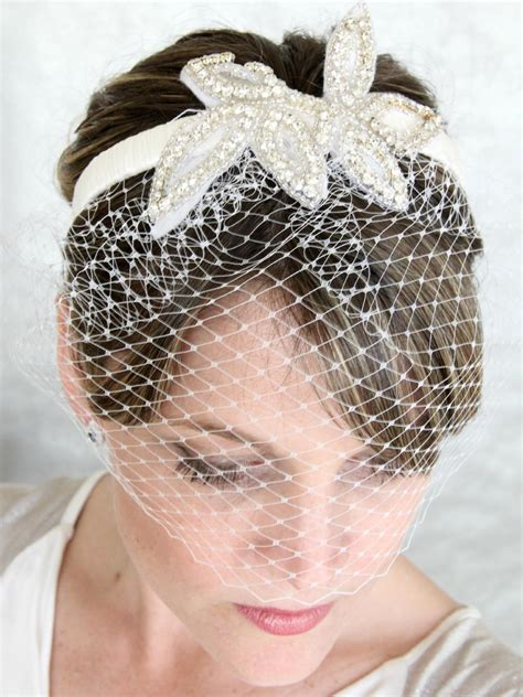 Handmade Birdcage Veil - birdcage wedding veil how to make www pixshark