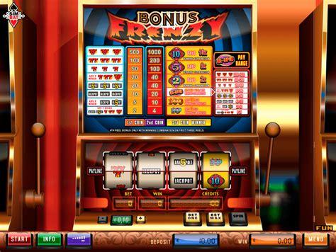 bonus frenzy slot machine  simbat casino slots