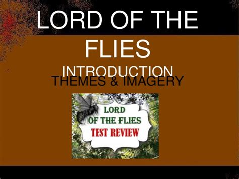 one sentence theme of lord of the flies lotf test review