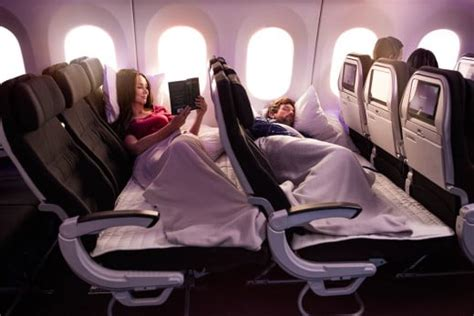 economy skycouch the haul experience onboard your flight experience air new zealand
